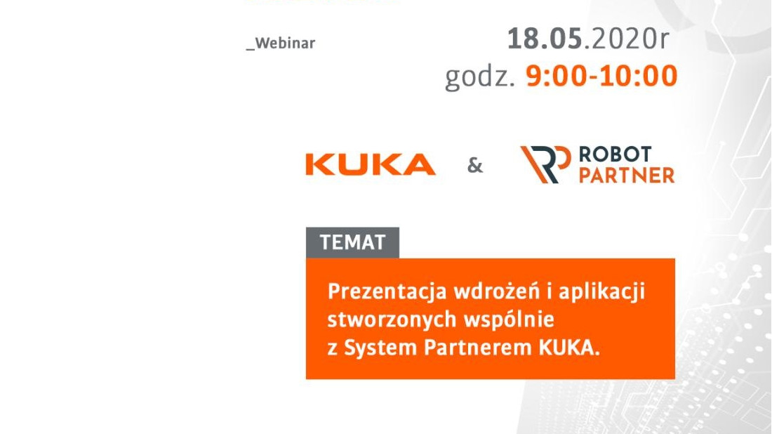 Webinar KUKA & Robot Partner