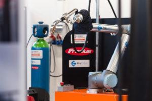 New Cobot welding station